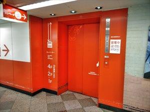 エレベーターの状況