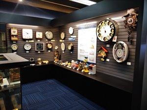 セイコーの歴史や商品の展示