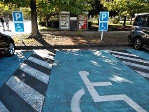 駐車場の選択とバリアフリー状況