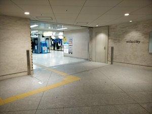 地下鉄新御茶ノ水駅からは、B1「ソラシティ」へ直結