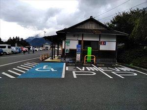 障害者用駐車区画の状況