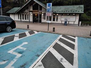 駐車場のバリアフリー状況