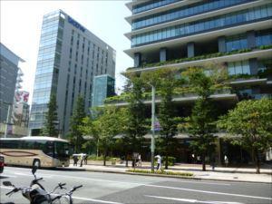 京橋のバリアフリー施設 東京スクエアガーデン 車椅子利用ガイド
