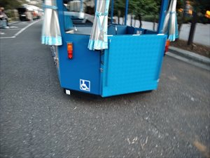 葛西臨海公園は、車椅子で利用できるバリアフリー公園