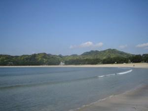 南伊豆町の弓ヶ浜