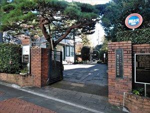 雑司ヶ谷の車椅子散歩 旧宣教師館