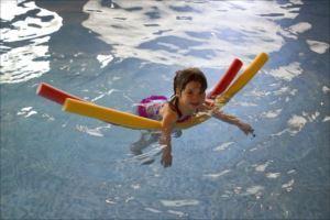 重度の障がいがある人が、プールで運動をするための4つの選択肢