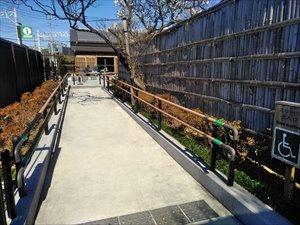 池上梅園 車椅子観梅ガイド