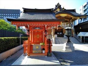 日本橋七福神めぐり 車椅子で巡拝
