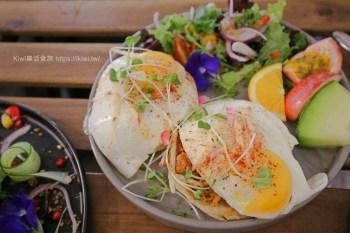 遇,假日MELB & CO. 彰化市早午餐推薦,澳式早午餐,擺盤精緻視覺效果超好