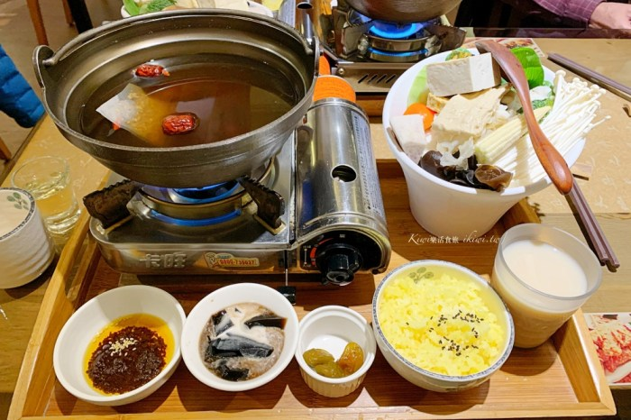 彰化陶米人文蔬食|彰化市蔬食廚房,簡餐、火鍋、燉飯推薦,手作餐點細緻又好吃,陶藝木藝人文禪風意境優美