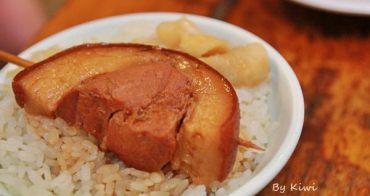 彰化阿章爌肉飯、筒仔米糕 彰化縣政府旁在地隱藏版美食,晚餐宵夜才有賣!