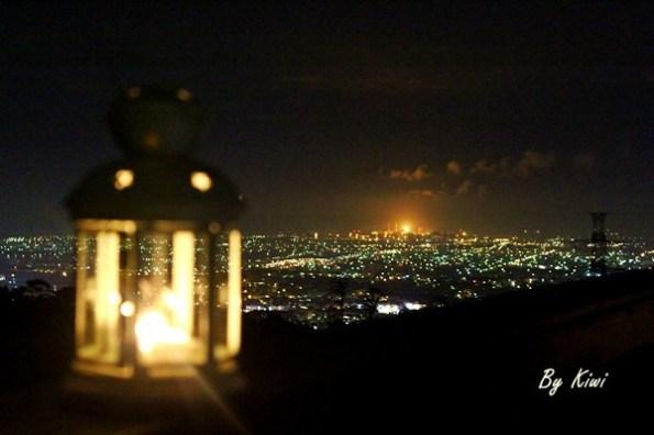 台中景點|MITAKA 3e Cafe咖啡 沙鹿夜景約會推薦3e咖啡/台中夜景推薦/靜宜大學/鳥居咖啡附近