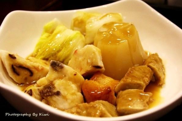 【彰化市美食】廚娘串燒。壽司。關東煮日式料理 @激推茶烏龍麵!價位上中等,吃巧不吃飽,餐點上口味合宜!