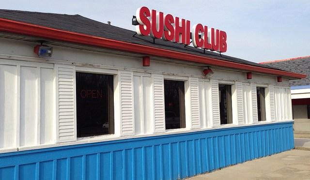 """米製寿司も意外といける!?インディアナポリスの寿司屋""""SUSHI CLOB"""""""