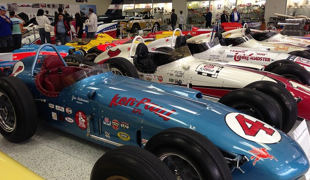 """車好き必見!Indy500の開催地にあるレースカーの殿堂「ホール オブ フェイム博物館」""""Indianapolis Motor Speedway Hall of Fame Museum"""""""