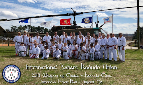 2018 4th Annual IKKU Weapons Choice Clinic