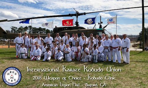 2018 4th Annual IKKU Weapons Choice Clinic