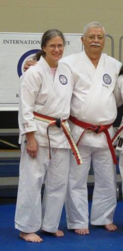 Connie Bond Promoted to 6th Dan, Awarded Shihan Dai Title