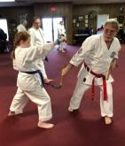 Hanshi Downton teaching Kama - 2019