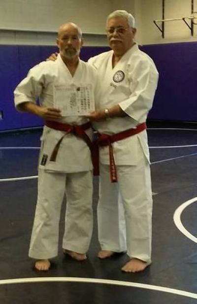 Kaicho Ricky Adams Promoted to Hanshi 9th Dan