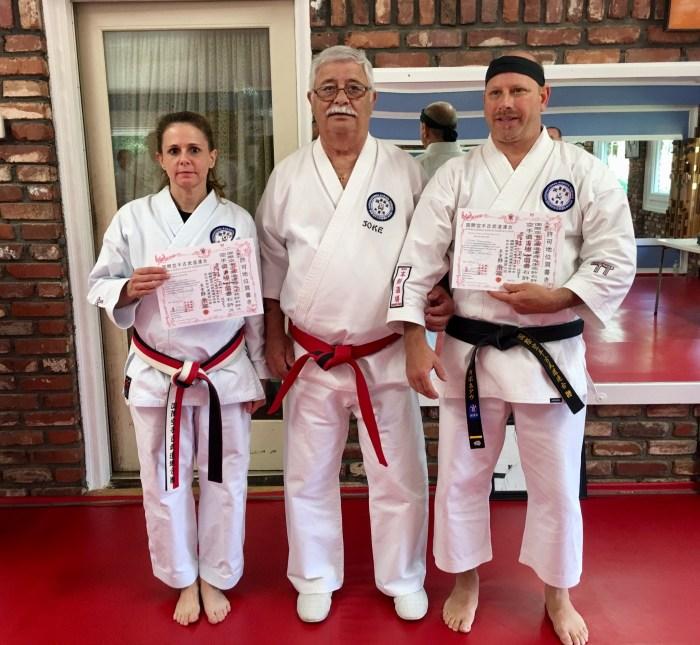 2017 IKKU Kotosu-Ha Shito-Ryu Black Belt Test