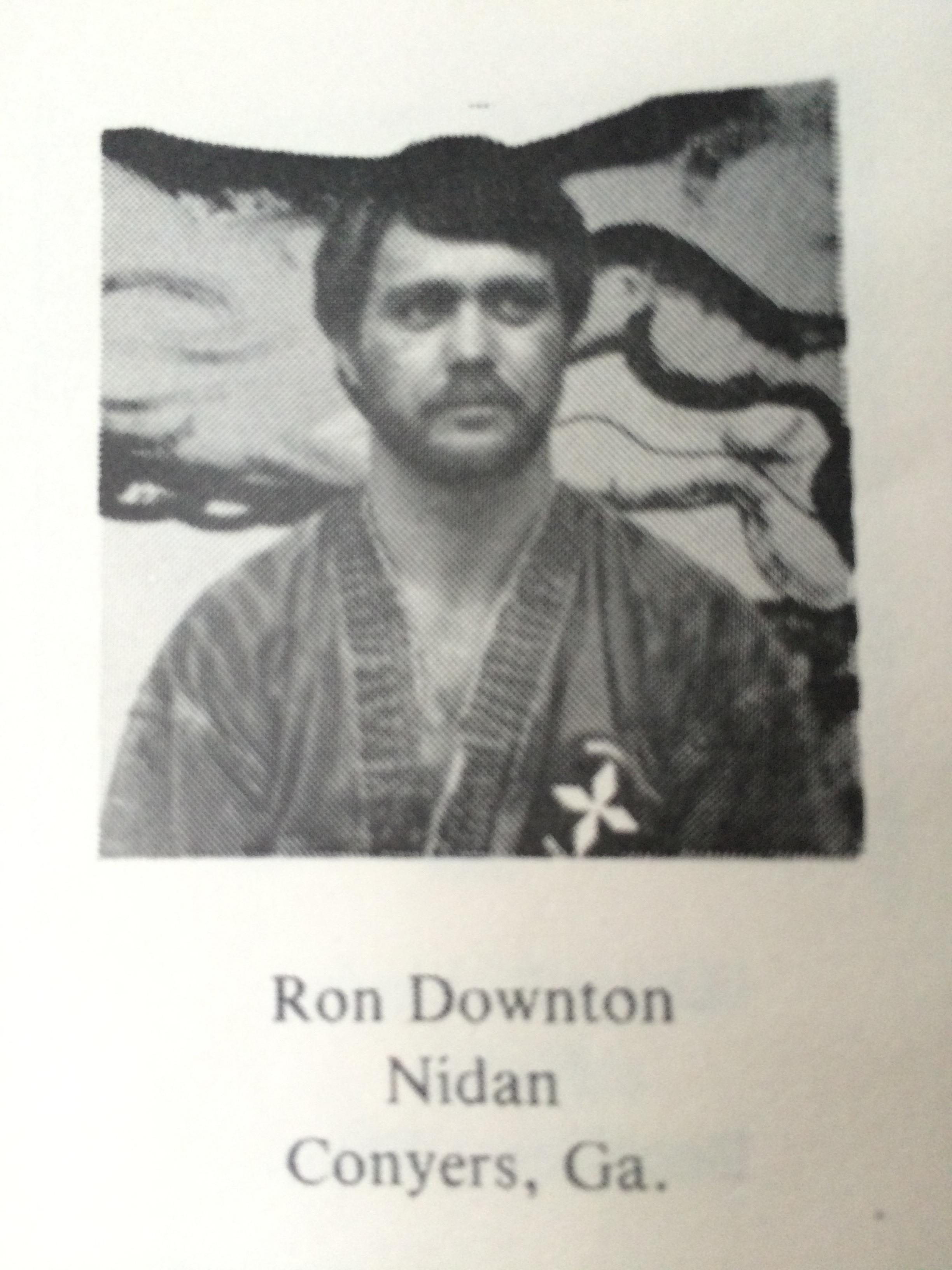 Hanshi Ron Downton