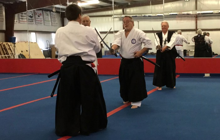 2016 IKKU Koga-Ryu Iaido and Bokken Clinic