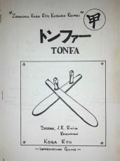 Koga-Ryu Kobudo Reimei - Tonfa Manual