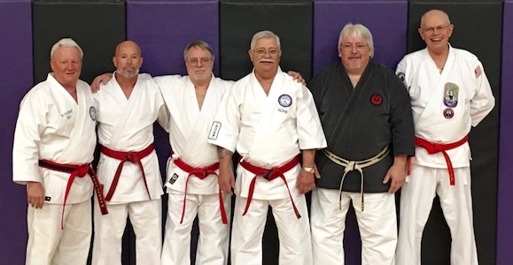 Top Brass Present at the 2016 IKKU Kobudo Clinic