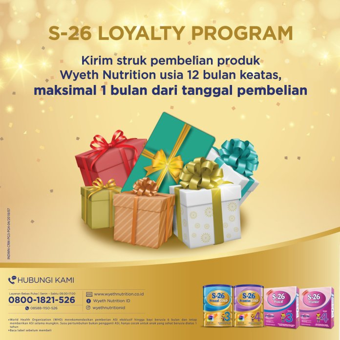 Gabung S26 Loyalty Program