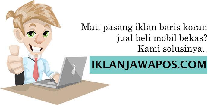 Iklan Jawa Pos Mobil Bekas