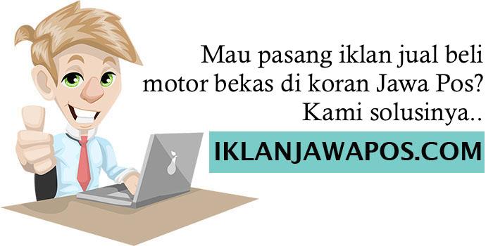 Iklan Jawa Pos Motor Bekas