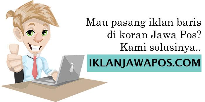 Iklan Jawa Pos Sabtu