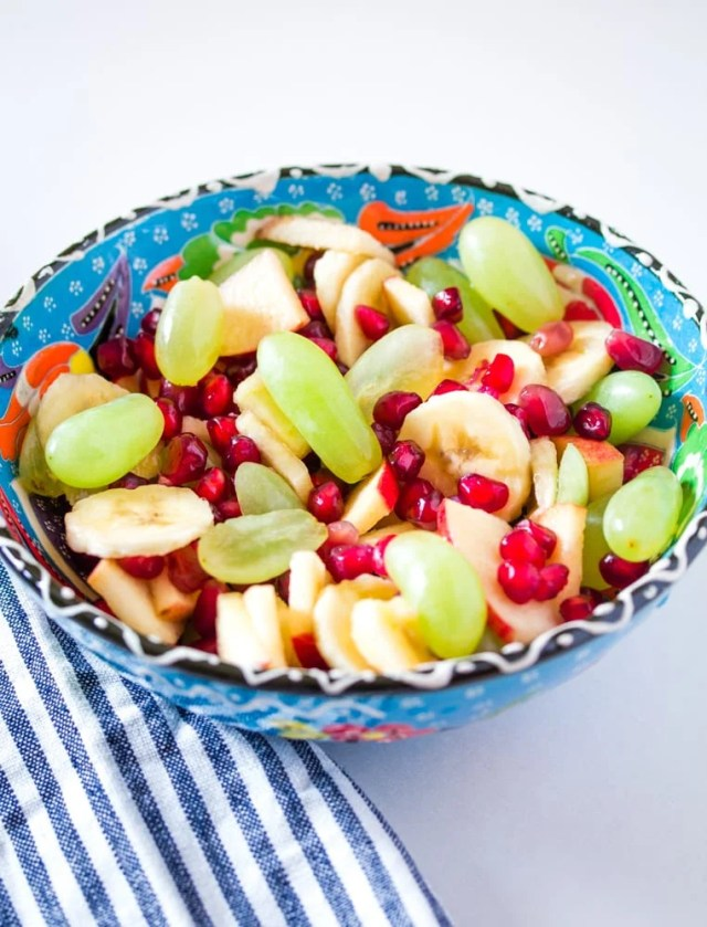 Fruit Chaat - Simple Fruit Salad | I Knead to Eat