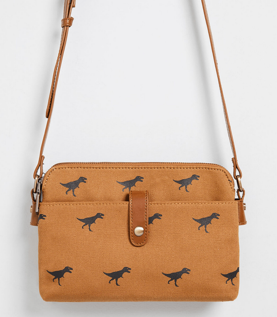 Dinosaur Camp Director Crossbody Bag