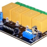 New 4 channel IR Remote Control Relay Board