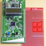 STM32L DISCOVERY with iknowvations Experiment Board.