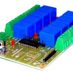 8 channel infrared IR remote control relay board with Digital outputs iUB-8R-IR launched.