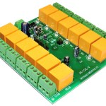 12 ch IR remote control relay card with programmable RC5 code iR-12C-V launched.