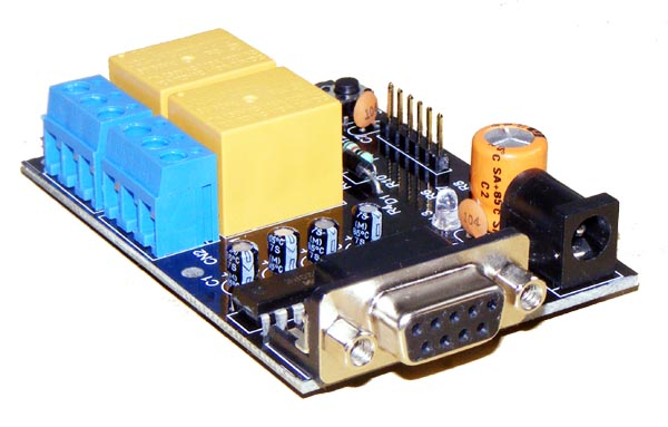 iRS-2R serial relay board from Iknowvations
