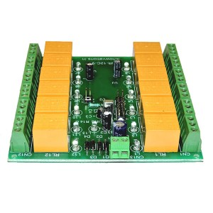 12 ch ir infrared remote control relay board - iR-12C-V - 3 from iknowvations.in