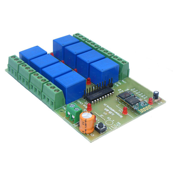 8 channel bluetooth relay board from iknowvations.in