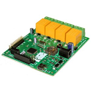 u96 4 channel usb relay & daq board from iknowvations.in