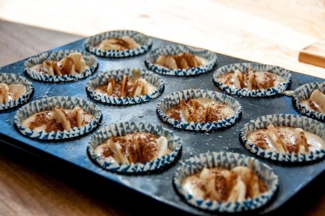 Äppelmuffins