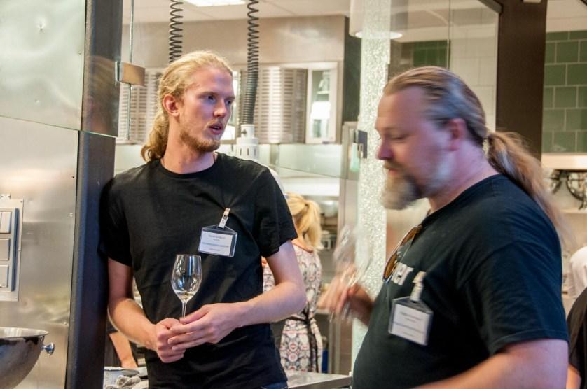 Vinerna diskuterades