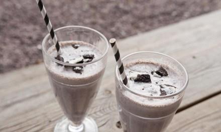 Oreo milkshake