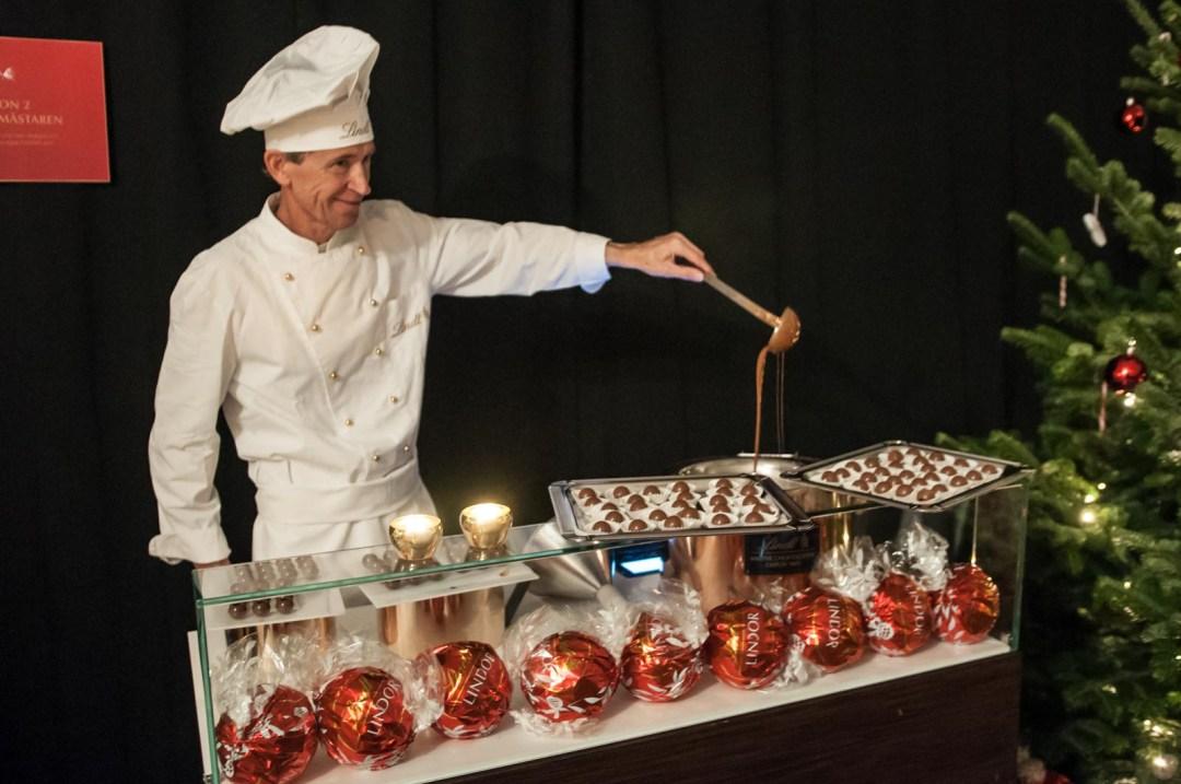 chokladpyssel med lindt