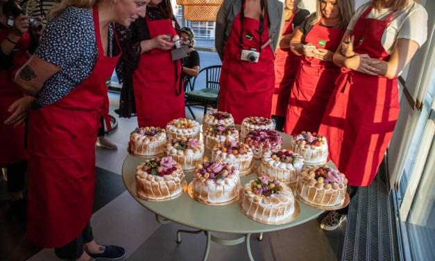 Tårtkurs med Tea malmegård hos Kökets kurser