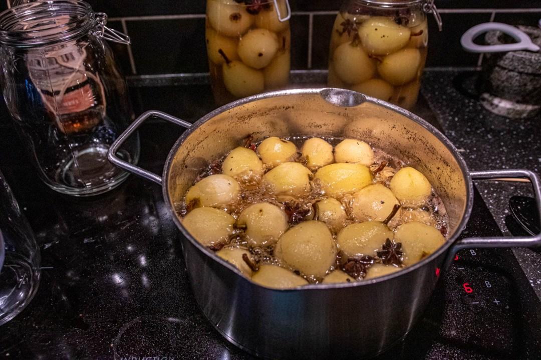 inlagda päron